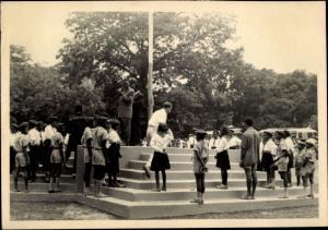 Foto Ak Kindia Guinea, Festivités