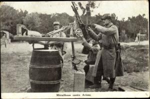 Ak  Mitrailleuse contre Avions, Französisches Flugabwehrgeschütz