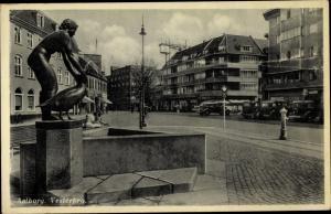 Ak Ålborg Aalborg Dänemark, Vesterbro
