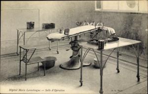 Ak Les Plessis Robinson Hauts de Seine, Hopital Marie Lannelongue, Salle d'Operation