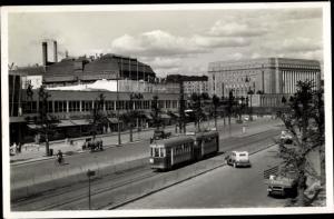 Ak Helsinki Helsingfors Südfinnland, Tram, Heikinkatu