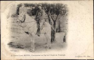 Ak Südafrika, Le General Louis Botha, Commandant en Chef de l'Armee du Transvaal