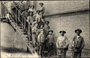 Ak Mines et Mineurs, la Descente à la Mine, Bergleute