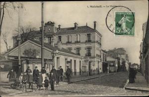 Ak Malakoff Hauts de Seine, La Mairie