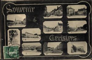 Buchstaben Ak Cerisiers Yonne, Souvenir