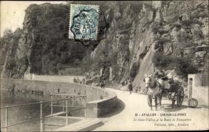 Ak Avallon Yonne, Cousin le Pont