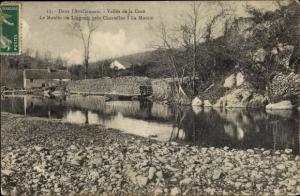 Ak Avallon Yonne, Vallee de la Cure, Le Moulin de Lingoux, pres Chastellux, La Momie