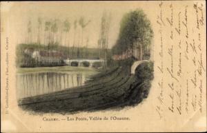 Ak Charny Yonne, Les Ponts, Valle de l'Ouanne