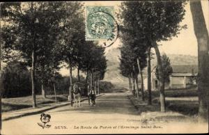 Ak Sens Yonne, La Route de Paron et l'Ermitage Saint Bon