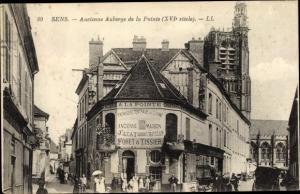 Ak Sens Yonne, Ancienne Auberge de la Pointe