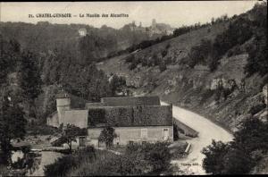 Ak Chatel Censoir Yonne, Le Moulin des Alouettes