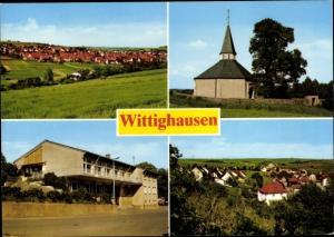 Ak Wittighausen Main-Tauber-Kreis Baden-Württemberg, Ortsansichten