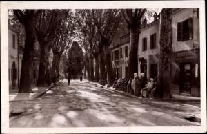 Ak Miliana Ain Defla Algerien, Rue Saint Paul et l´Horloge