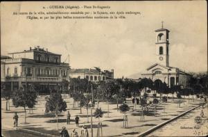 Ak Guelma Provinz Guelma Algerien, Place Saint Augustin