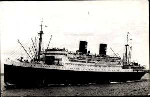 Ak Dampfer SS President Coolidge, Dollar Steamship Lines