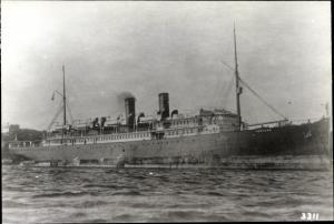 Ak Dampfer SS Ventura