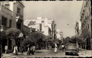 Ak Tanger Marokko, Boulevard Pasteur