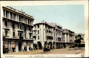 Ak Casablanca Marokko, Avenue du General d'Amade