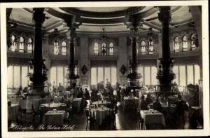 Ak Heliopolis Cairo Kairo Ägypten, The Palace Hotel, Restaurant