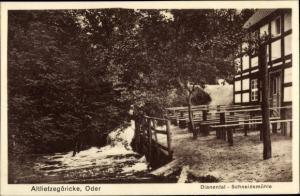 Ak Stare Łysogórki Altlietzegöricke in der Neumark, Dianental Schneidemühle