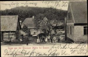 Ak Toporów Topper Lebus, Grunower Mühle