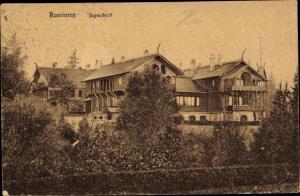 Ak Krasnolessje Rominten Ostpreußen, Jagdschloss