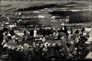 Ak Leiberg Bad Wünnenberg Bürener Land, Gesamtansicht, Vogelschau