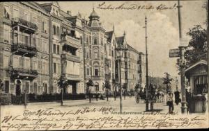 Ak Erfurt in Thüringen, Die Arnstädterstraße