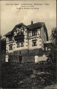 Ak Winterstein Waltershausen in Thüringen, Villa Elsa Marie, Außenansicht