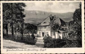 Ak Jelenia Góra Hirschberg Riesengebirge Schlesien, Grünbuschbaude