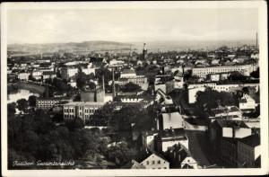 Ak Racibórz Ratibor Schlesien, Gesamtansicht