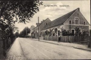 Ak Altdöbern in der Niederlausitz, Seminarstraße