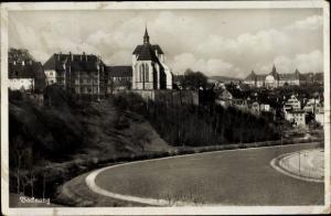 Ak Backnang in Baden Württemberg, Panorama