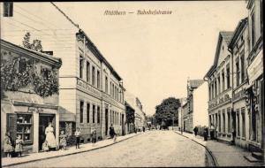 Ak Altdöbern in der Niederlausitz, Bahnhofstraße, Hotel Emil Pachtmann
