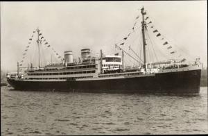Ak Steamer Orinoco, Dampfschiff, HAPAG Line