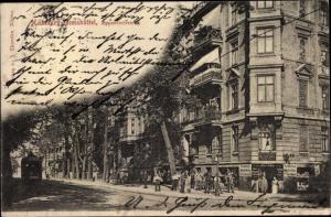 Ak Hamburg Eimsbüttel, Eppendorfer Weg, Straßenbahn
