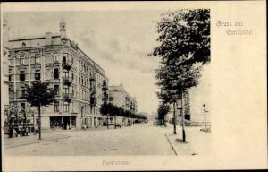 Ak Hamburg Eimsbüttel, Faberstraße