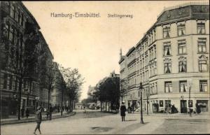 Ak Hamburg Eimsbüttel, Stellinger Weg