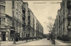 Ak Hamburg Eppendorf, Woldsenweg