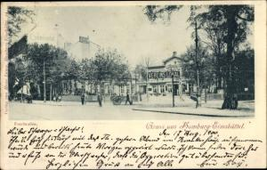 Ak Hamburg Eimsbüttel, Fruchtallee, Vereinslokal