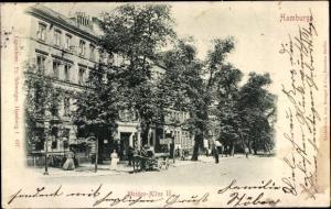Ak Hamburg, Weidenallee II, Kutsche