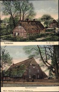 Ak Hamburg Nord Fuhlsbüttel, An der Trift, Ratsmühlendamm, Landhaus