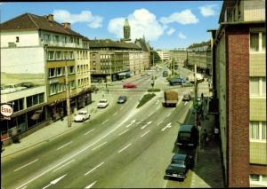 Ak Rheydt Mönchengladbach im Ruhrgebiet, Limitenstraße