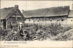 Lyngby Norddjurs Dänemark, Fra Bygningsmusoet