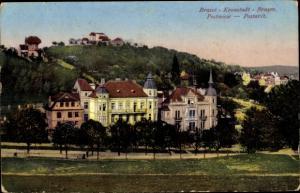 Ak Brașov Brassó Kronstadt Rumänien, Postwiese
