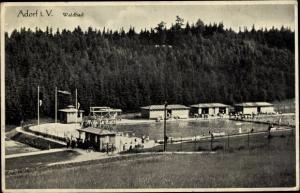 Ak Adorf im Vogtland, Waldbad