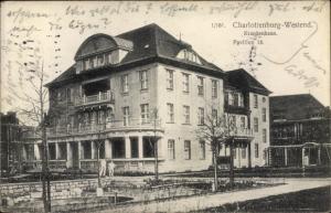 Ak Berlin Charlottenburg Westend, Krankenhaus, Pavillon 18