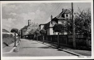 Ak Rabenau Osterzgebirge, Schule