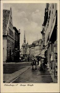 Ak Oldenburg in Holstein, Lange Straße
