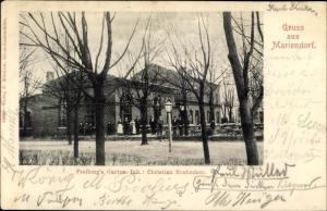 Ak Berlin Tempelhof Mariendorf, Freibergs Garten